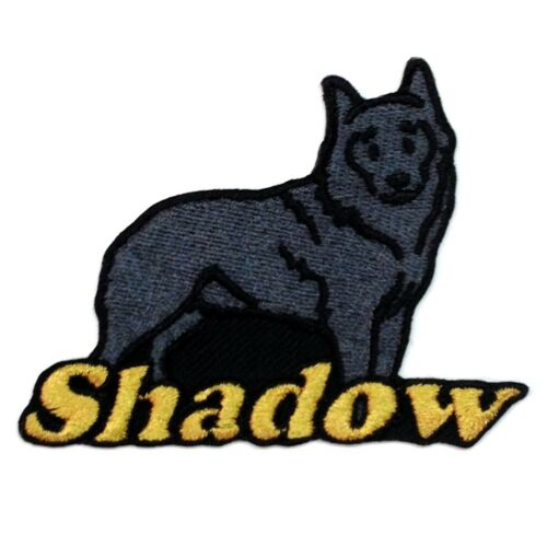 Schipperke Dog Custom Iron-on Patch With Name Personalized Free