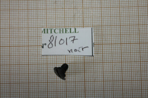 VIS NOIR BRAS DECLENCHEUR 300PRO & MOULINET MITCHELL TRIP LEVER SCREW PART 81017