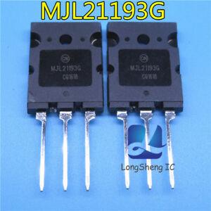 5pcs-MJL21193G-MJL21193-TO-3P-sur-NEUF