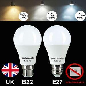 LED-BULB-B22-E27-5W-7W-12W-15W-Standard-GLS-Lamp-Light-Bulbs-Warm-Day-Cool-White