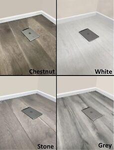 8mm Laminate Flooring - Sold per m2- V Groove - AC4 - Modern White ...