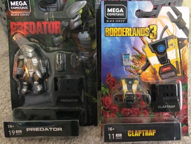 Mega Construx Predator And Borderlands 3 Claptrap