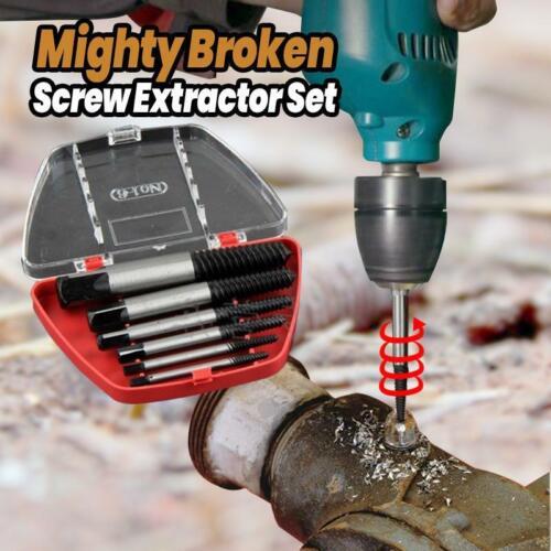 Mighty Broken Screw Extractor Set