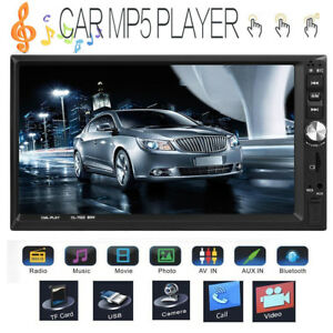 Double-2Din-7-034-HD-Touch-Car-Stereo-MP5-Player-Bluetooth-FM-Radio-RC-Mirror-Link