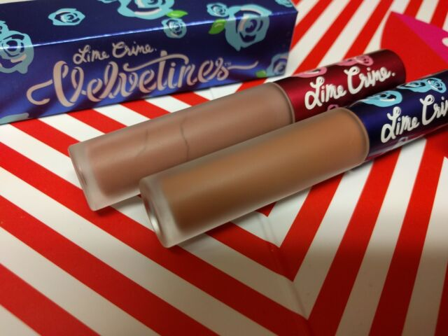 Matte Velvetines Mini Red Lipstick Set - Lime Crime