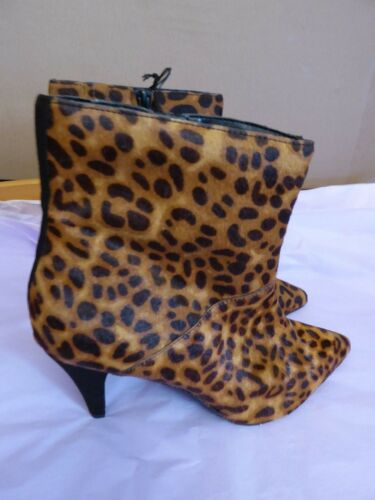 Leather New Spencer Eu 5 42 7 5 8 Uk Marks Print Animal 10 amp; Brown Boots 41 Us 9 xOwnZZ