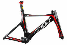 2010 Felt DA 650c Time Trial Bike Frame Set Kit 50cm SMALL Carbon Aero