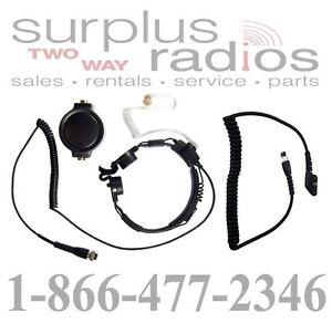 Two Way Radio Parts Accs Pryme SPM 1522S Throat Mic Headset VERTEX EVX 531 534