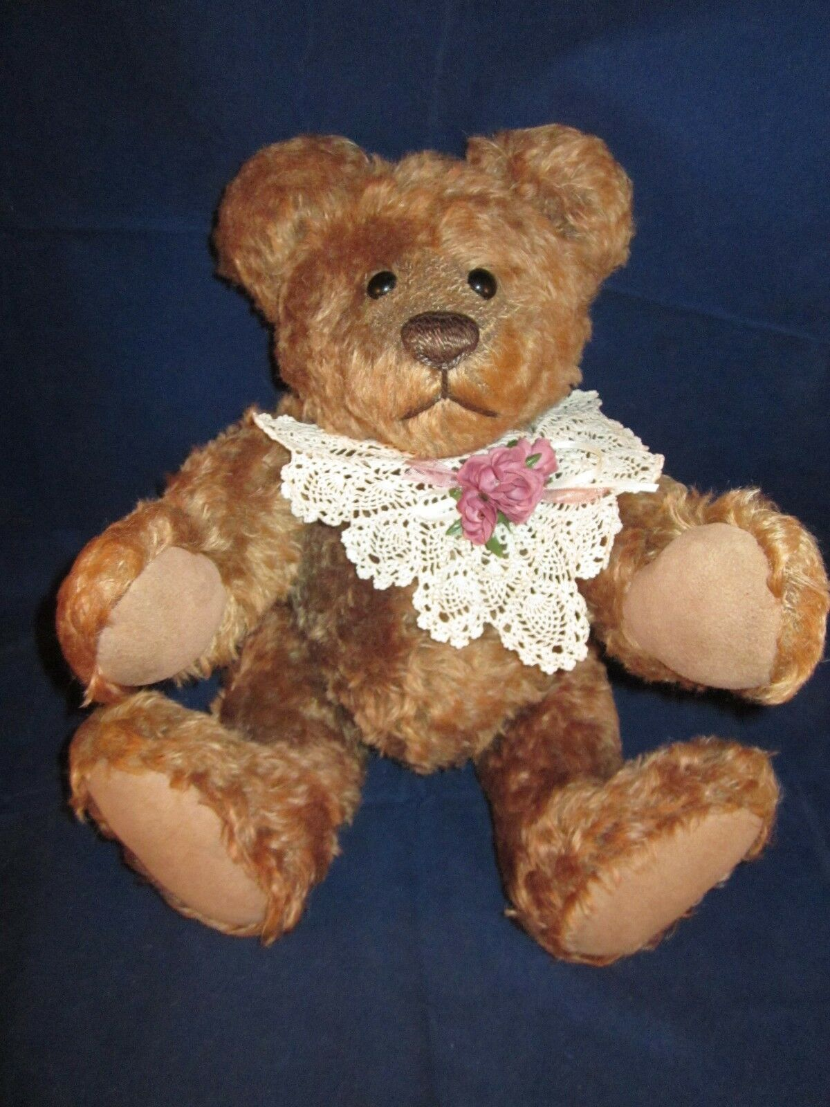 PAMELA SUE WOOLEY Mohair Artist Bear One of A Kind  CALLYN  ~ EXCELLENT with TAG