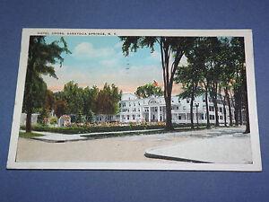 VINTAGE-1929-HOTEL-GROSS-SARATOGA-SPRINGS-NEW-YORK-POSTCARD