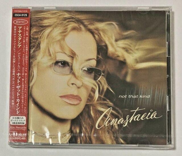 "ANASTACIA SEALED Promo CD ""Not That Kind""  Limited 4 Bonus Tracks Japan OBI"