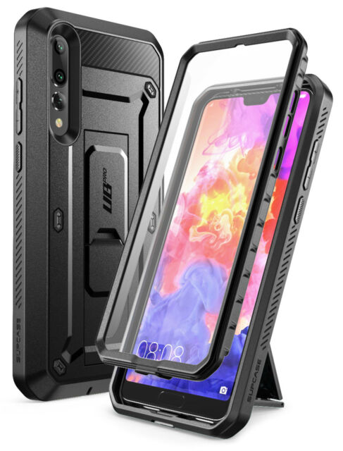 sale retailer c16ba c7bd2 for Huawei P20 Pro Case SUPCASE Full-body Rugged Cover With Screen Protector