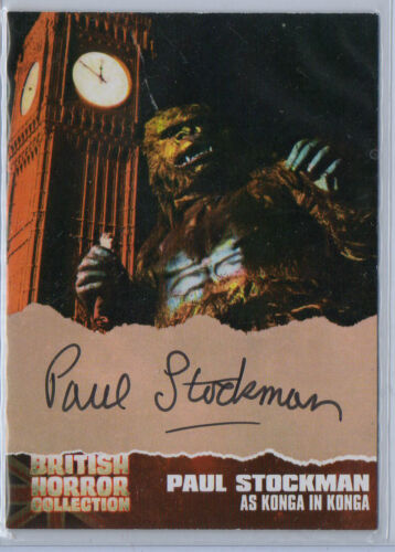 Hammer Horror Autograph Card Selection NM Strictly Ink Cornerstone Unstoppable