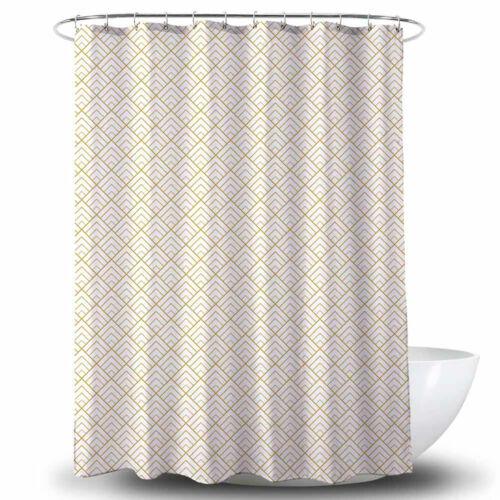 Duschvorhang Textil Badewannenvorhang Bad Vorhang 120//180//240x200 cm inkl Ringe