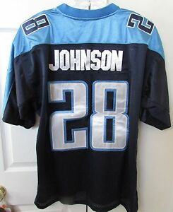 79726687c NFL Tennessee Titans Chris Johnson  28 Jersey Size 52 by Reebok EUC ...