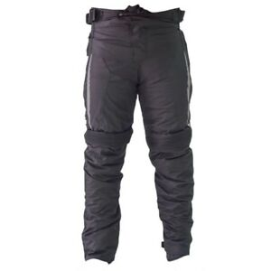 CRUIZER-Pantaloni-Moto-Scooter-Cordura-Antivento-Antipioggia-Alloggi-Protezioni