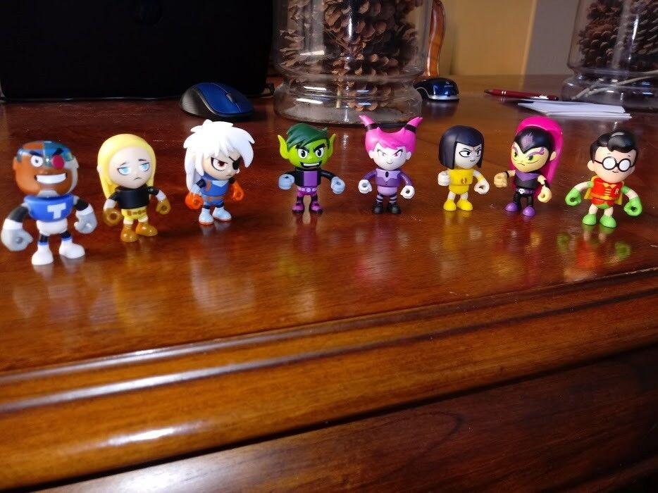 Teen Titans GO  2  Mini Figure Full Full Full Set of 8 Series 3 d36d6d