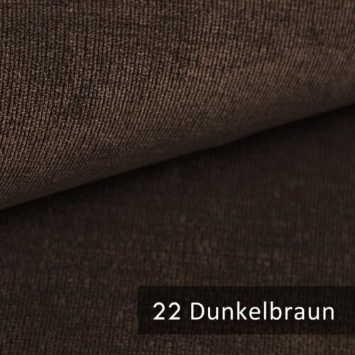 novely® ISSUM samtig flauschiger Möbelstoff in 21 Farben Polsterstoff