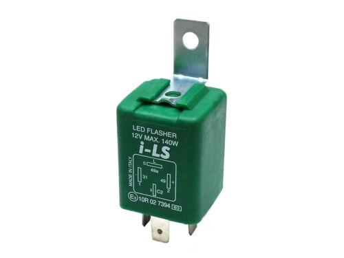I-LS LED Blinkgeber Blinkrelais für Anhänger mit LED-Blinkleuchten 12V