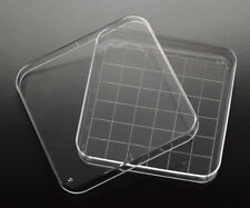 15 X 90mm Square Petri Platedish With Numbered 13x13mm Grid New Sterile
