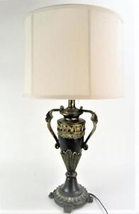 Details About Large Table Lamp Vintage Antique Style Black And Gold