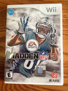 Madden NFL 13 (Nintendo Wii 2012) Complete NCAA Football ...