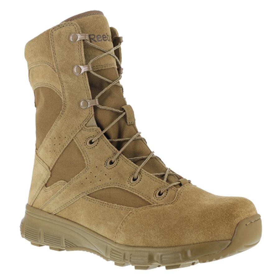 Reebok RB8822 Men's Dauntless 8  Coyote Brown AR670-1 Compliant Tactical Boots