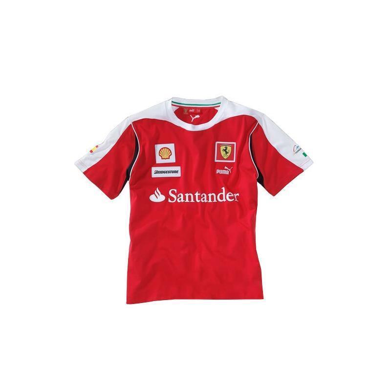 T-shirt Ufficiale Ferrari Ferrari Ferrari Puma rosso taglia S f3f698