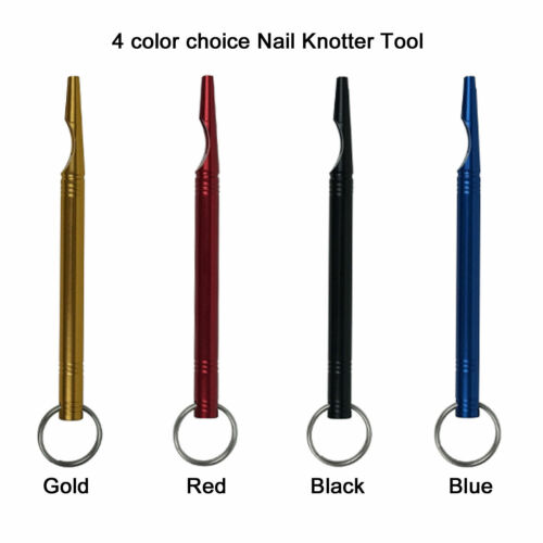 Aventik CNC Machined Nail Knotter Tool Easy Knot Tying Tool