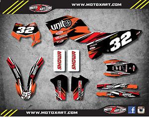 Custom graphics for KTM 65 2002-2008 DIGGER STYLE full