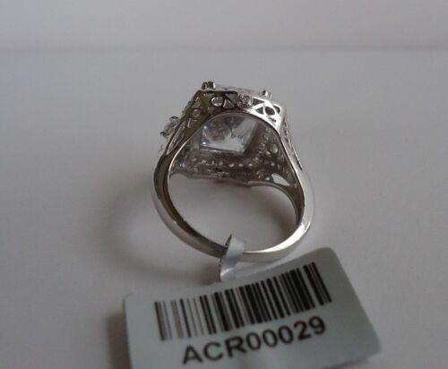 925 STERLING SILVER LADIES WEDDING RING SZ 6,7,8,9  W// 12 CT DIAMOND