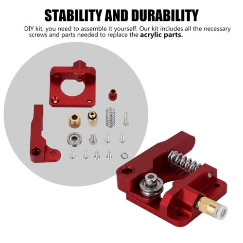 Extruder Upgrade Kit 5X 0.4mm Nozzles For Creality Ender 3 4X Leveling Nuts