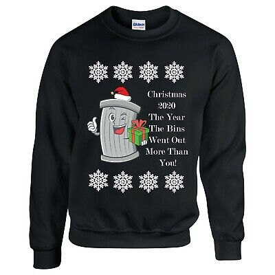 Funn Christmas Sweater 2020 Christmas jumpers 2020 The Year The Bins Went Out More Novelty/Fun