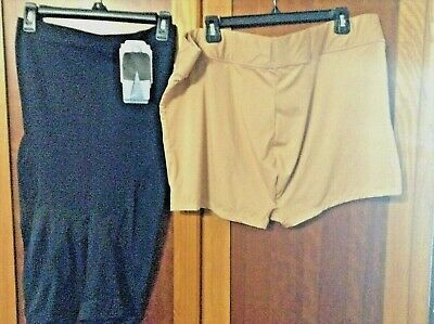 Heavenly Shapewear Black Hi Waist Control Briefs  Size X Large