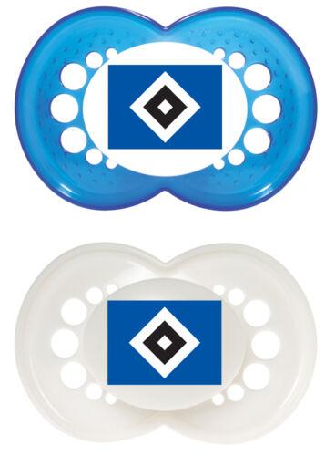 nuevo * Mam chupete de silicona original 0-6 HSV o 6-16 mon 2 unidades hamburguesas SV
