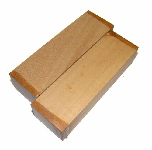 Messergriffblock Birne natur 12x4x3cm