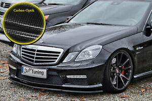 Spoilerschwert-ABS-fuer-Mercedes-E-Klasse-W212-E63-AMG-mit-ABE-Carbon-Optik