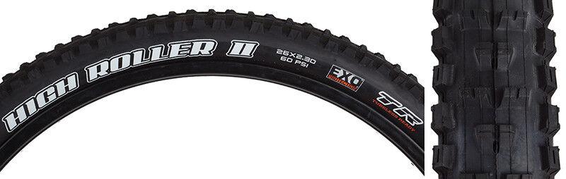 Maxxis Highroller Ii 26X2.3 Bk Folding  Dc Exo Tr Tire  good quality