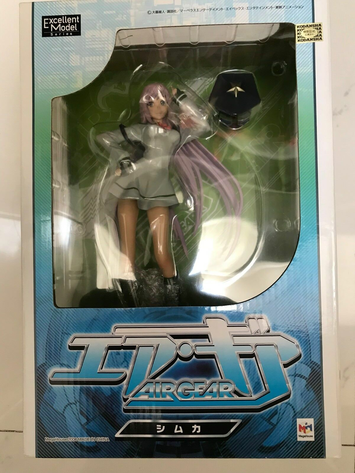 MEGAHOUSE AIR GEAR, SIMCA, 1 8 SCALE FIGURE, NEW