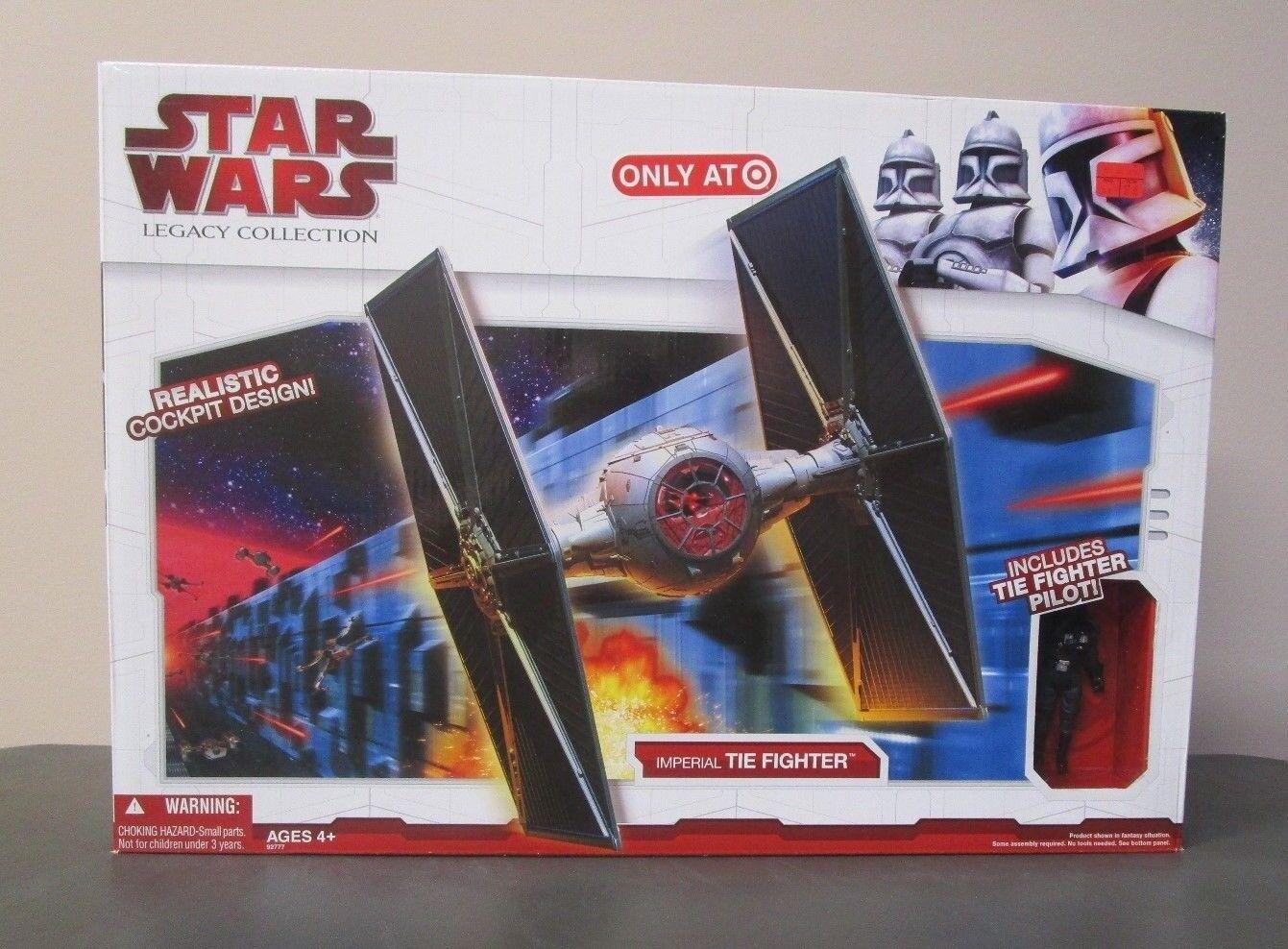 Imperial Tie Fighter 2009 Estrella Wars Legado Colección TARGET EXCLUSIVE MIB