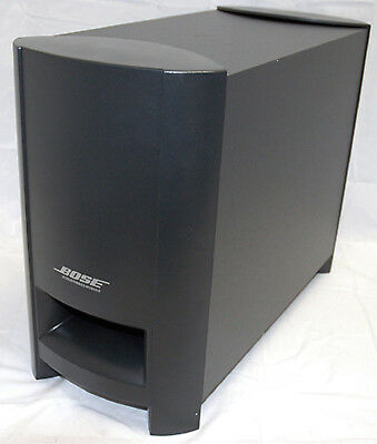 bose 3 2 1 gs series iii 3 acoustimass sub module only home theater subwoofer ebay. Black Bedroom Furniture Sets. Home Design Ideas