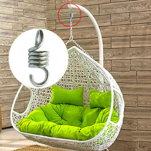Automobiles & Motorcycles Marine Hardware Sturdy Steel Extension Spring For Hammock Swing Punch Bag Hanging Basket Hook Hanging Basket Rattan Chair Accessories Bright In Colour