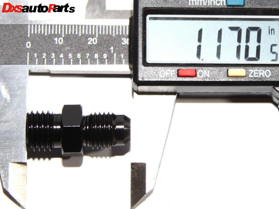 10 AN10 JIC to M12x1.25 Metric Thread Alloy Fitting Adapter Motamec AN