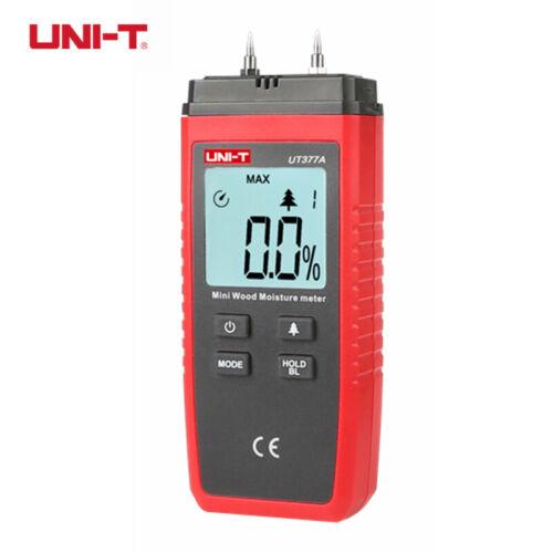 UNI-T UT377A Digital Wood Moisture Meter 2~40/% Hygrometer Humidity Tester