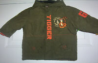 Tigger Disney Classic Winne The Pooh Toddler 12 Month Hooded Jacket With Tag