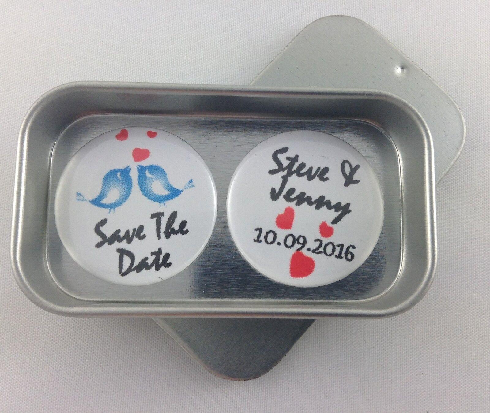 Mariage save the date cadeau aiFemmets, complet avec boîte cadeau, souvenir, moHommes to   Moins Cher