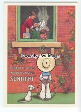 ad0753 - Sunlight Soap - Mothers Using Sunlight - Modern Advert Postcard