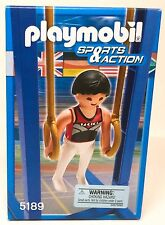 Playmobil Olympics Sports Gymnast On Rings 5189 NEW 2011 Retired