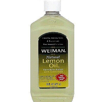 Weiman Lemon Oil Furniture Polish For