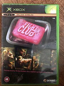 Microsoft-FIGHT-CLUB-Beat-039-Em-Up-XBox-Game-Based-on-Film